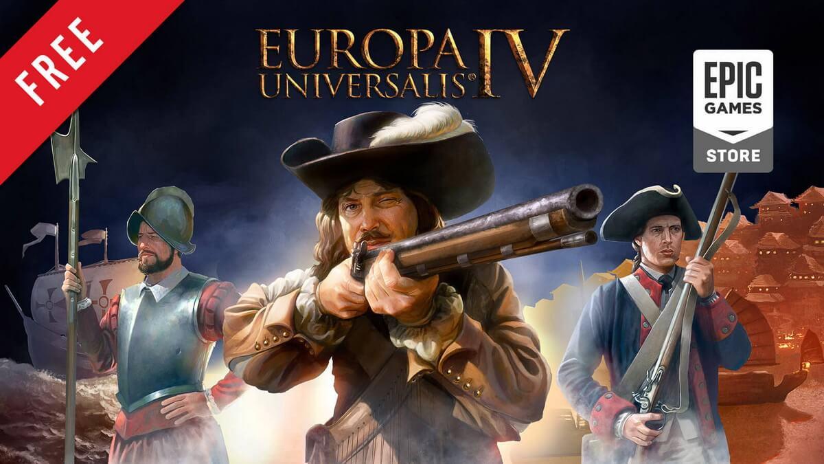 Europa Universalis IV бесплатно в Epic Games Store
