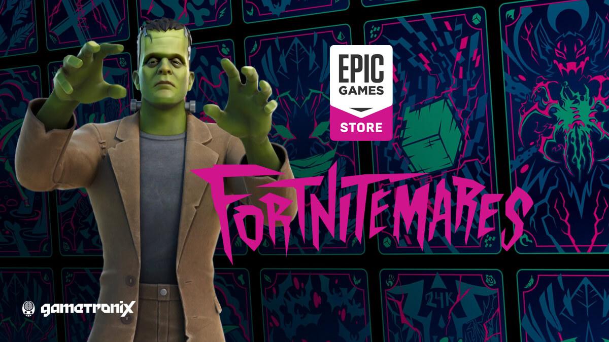 В Fortnite началось событие Fortnitemares